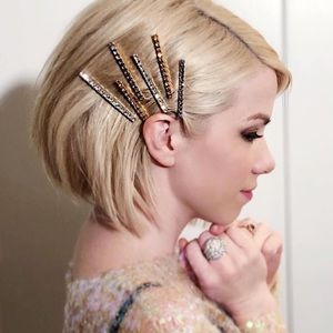 Jennifer Behr Gwen Bobby Pin Set Swarovski Crystal